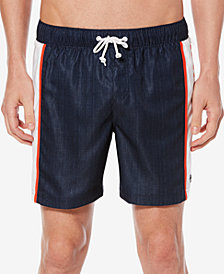 "Original Penguin Men's Colorblocked Logo 6"" Swim Trunk"