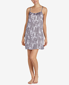DKNY Walk the Line Satin Racerback Chemise