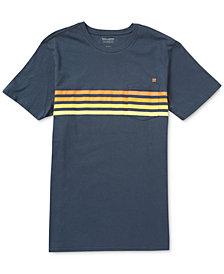 Billabong Men's Team Stripe-Print Pocket T-Shirt