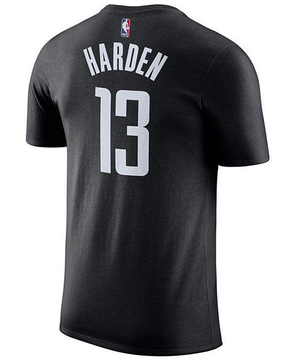 Nike James Harden Houston Rockets Statement Name and Number T-Shirt, Big Boys (8-20)