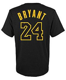 Nike Kobe Bryant Los Angeles Lakers Retired Player T-Shirt, Big Boys (8-20)