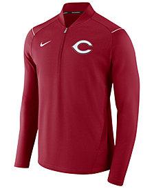 Nike Men's Cincinnati Reds Dry Elite Half-Zip Pullover