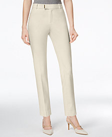 Charter Club Hardware-Detail Ankle Pants, Created for Macy's