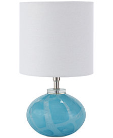 Regina Andrew Art Glass Mini Orb Table Lamp
