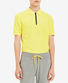 Calvin Klein Men's Zip Polo