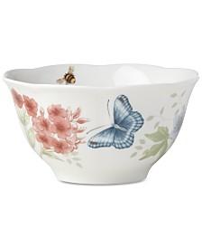 Lenox Butterfly Meadow Flutter Rice Bowl