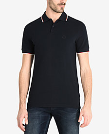 A|X Armani Exchange Men's Contrast Tipped Polo