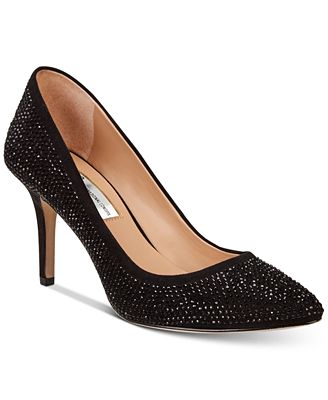 I.N.C. Women's Zitah Rhinestone Pointed Toe Pumps, Created for Macy's $89.5