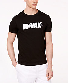 Lacoste Men's Novak Djokovic Ultra Dry Graphic-Print T-Shirt