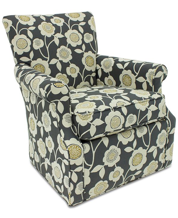 Furniture Corilee Fabric Swivel Chair