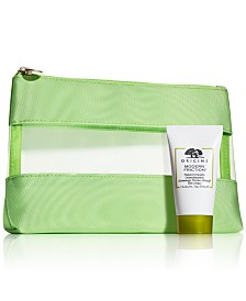 Receive a FREE Cosmetics Bag + Deluxe Modern Friction with any $100 Origins purchase