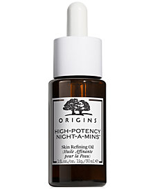 Origins High-Potency Night-A-Mins Skin Refining Oil, 1 fl. oz.