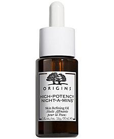 Origins High-Potency Night-A-Mins Skin Refining Oil, 1 fl. oz.