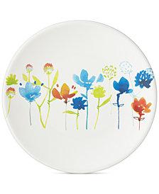 Dansk Nilsen Melamine Floral Dinner Plate
