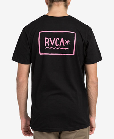 RVCA Men's Squig Logo-Print T-Shirt