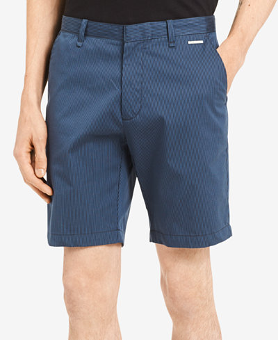 Calvin Klein Men's Stretch Stripe Shorts