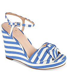 kate spade new york Janae Platform Wedge Sandals