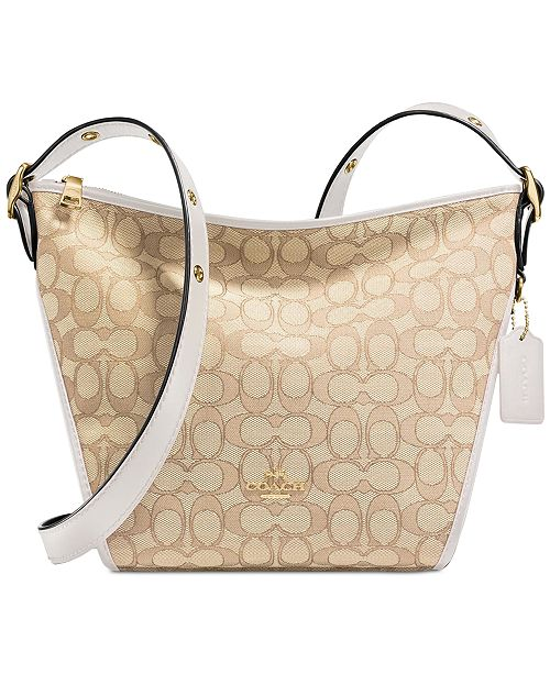 fa98cc000fa0 COACH Small Dufflette   Reviews - Handbags   Accessories - Macy s