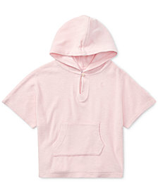 Ralph Lauren French Terry Cotton Cover Up, Baby Girls