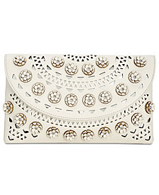 I.N.C. Huw Flower Clutch, Created for Macy's