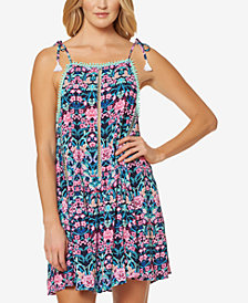 Jessica Simpson Tie-Shoulder Cover-Up Dress