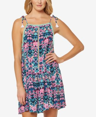 Mike and Chevron Cover UPS Beach Dresses