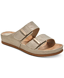 Baretraps Cherilyn Memory Foam Slide Flat Sandals