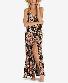 Billabong Juniors' Floral-Print Maxi Dress