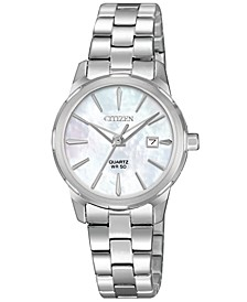 Women's Quartz Stainless Steel Bracelet Watch 28mm
