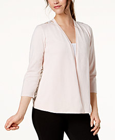 Alfani Lace-Back Cardigan, Created for Macy's