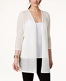 Illusion-Stripe Cardigan, Created for Macy's