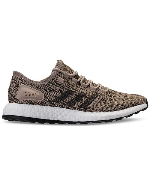 eefcdf8f2 adidas Men s PureBoost Running Sneakers from Finish Line   Reviews ...