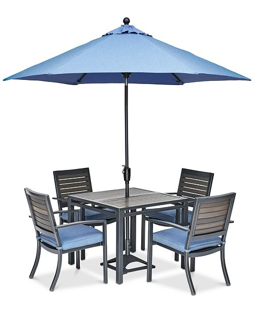 Harlough Ii 5 Pc Outdoor Dining Set