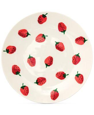 Dinner Plate, Strawberries