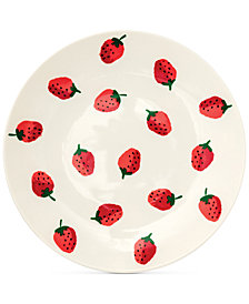 kate spade new york Dinner Plate Strawberries  sc 1 st  Macyu0027s & Melamine Dinnerware - Macyu0027s