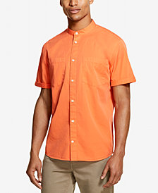 DKNY Men's Twill Woven Shirt, Created for Macy's