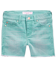 Celebrity Pink Frayed Hem Shorts, Big Girls