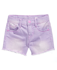 Celebrity Pink Super Soft Color Denim Shorts, Little Girls