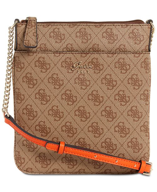GUESS Jacqui Tourist Mini Signature Crossbody   Reviews ... 9df4d4db76a93