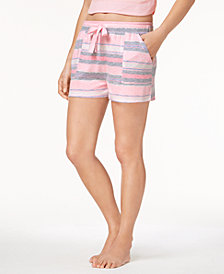 Ande Whisperluxe Space-Dye-Print Pajama Shorts