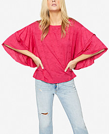 Sanctuary Elise Tiered Eyelet Top