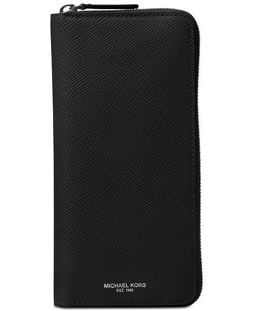 quality design f8ca4 6fb57 Michael Kors Men's Harrison Leather Tech Case & Reviews - All ...