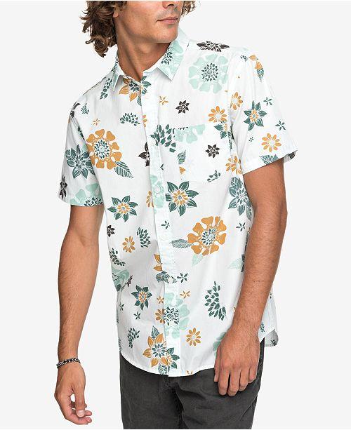f3f5c1f24c0c Quiksilver Men s Sunset Floral Shirt   Reviews - Casual Button-Down ...