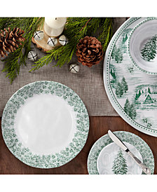 Q Squared Yuletide Dinnerware Collection