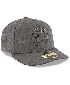 New Era Los Angeles Dodgers Clubhouse Grey Low Profile 59FIFTY Fitted Cap