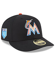 New Era Miami Marlins Spring Training Pro Light Low Profile 59Fifty Fitted Cap