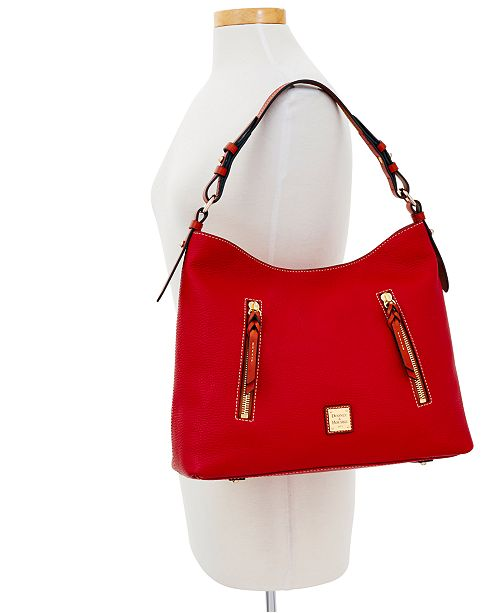 9afdd376675ad6 Dooney & Bourke Patterson Cooper Pebble Leather Hobo & Reviews ...