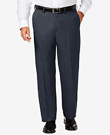 J.M. Haggar Men's Big & Tall Classic-Fit Stretch Sharkskin Dress Pants