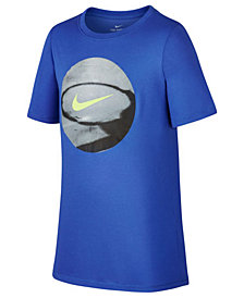Nike Basketball-Print T-Shirt, Big Boys