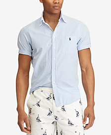 Polo Ralph Lauren Men's Big & Tall Classic Fit Short Sleeve Shirt